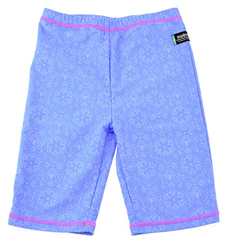 Swimpy Mädchen UV Badeshorts Frozen, Blau, 98-104 cm, 34-FR8002T (Baby Uv-disney Bademode)