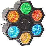 PartyFunLights 6 LED Linkable Lights, schwarz, 86231