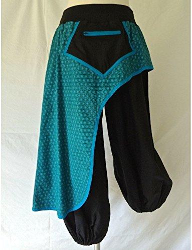 pantalon-noir-et-bleu-imprime-ref-ev14-03