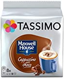 Tassimo Cappuccino Chocolat Maxwell 40 boissons (Pack de 5x8)