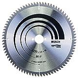 Bosch Zubehör 2608640645 Kreissägeblatt Optiline Wood 250 x 30 x 3,2 mm, 80