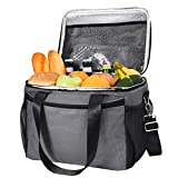 MOVTOTOP MOVTOTOP Kühltasche, Wiederverwendbar Isolierte Kühlbox 15L für Erwachsene, Wasserdichte Picknicktasche für Camping, Picknick, Arbeit und Schule