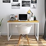Lifewit Table informatique Bureau de travail Taille grande pour maison et bureau (Style simple)