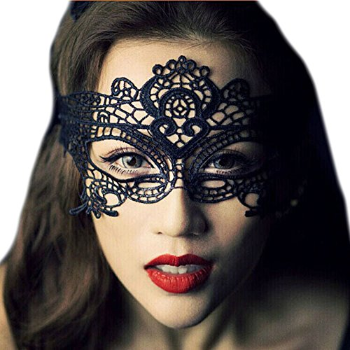 Mangotree V Für Vendetta Maske Guy Fawkes Anonyme Halloween Kostüm Party Kunststoff Anti-ACTA Bewegung Fancy Dress (**EU Men**, Gelb) (Women: One Size, Schwarz)