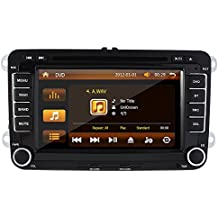 De 7 Pulgadas Pantalla Táctil Para VW Volkswagen Passat Golf V/Skoda para coche Reproductor de DVD con GPS + Pantalla Táctil De 17,8 cm (7 pulgadas), 3 G, WIFI, PIP, RDS Bus CAN/Bluetooth/Analog sintonizador de TV (Apple iPod/iPhone Control + 4 TD con 3d tarjeta de tarjetas)