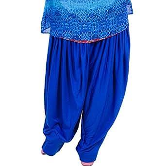 Black Macy Royal Blue Patiala salwar