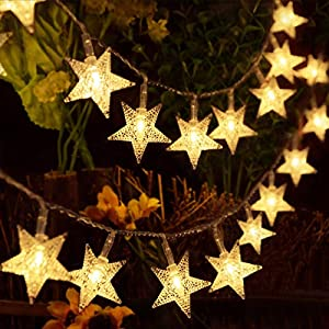 HOMVAN Luces de Estrellas 50