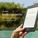 All-new Kindle Paperwhite - Now waterproof and twice the storage - without special offers only £129.99 on Amazon