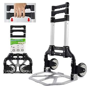 yahee sackkarre transportkarre stapelkarre 80kg belastbar handewagen transportwagen trolley. Black Bedroom Furniture Sets. Home Design Ideas