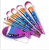 Make Up Pinsel Make Up Pinsel Set Der Kosmetikpinsel 8 Diamant-Make-Up-Pinsel Bunter Diamantgriff Mit Einer Kleinen FischbüRste Make-Up Pinsel Werkzeug