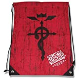 Fullmetal Alchemist Brotherhood Symbol Draw String Bag Back Pack by Fullmetal Alchemist Brotherhood