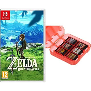 The Legend Of Zelda: Breath Of The Wild + Funda para almacenamiento de juegos (Rojo) AmazonBasics (B07D73ZLVT) | Amazon price tracker / tracking, Amazon price history charts, Amazon price watches, Amazon price drop alerts