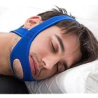 EinsAcc Schnarchstopper Kinnband Anti Schnarchband Anti Schnarchen Ruhiger Schlaf (blau) preisvergleich bei billige-tabletten.eu