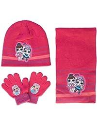 L.O.L Surprise! - Set Invernale 3pz Cappello Guanti e Sciarpa - Bambina -  Full Print 5ab680dd900e
