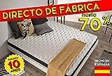 Colchón 105 x 190 cm ERGOLATEX de espuma 100% Blue Latex® - NATURALEX