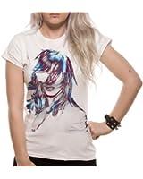 Loud Distribution Damen T-shirt , Rundkragen