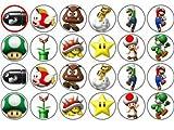 24 Super Mario Kuchendeckel