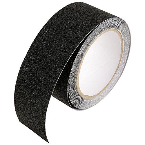 5cm × 5m nastro di sicurezza nastro antiscivolo adesivo forte antisdrucciolo autoadesivo nastro per dell'interno & all'aperto(black)