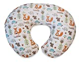 Chicco Boppy Pillow with cotton slipcover Modern Woodl