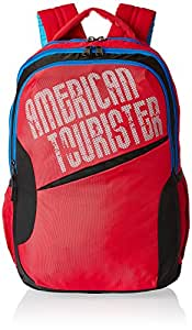 American Tourister 25 Lts Red Casual Backpack (CLICK 2016)
