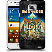Official Iron Maiden Powerslave Album Covers Hard Back Case for Samsung Galaxy S2 II I9100