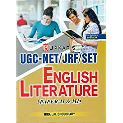 UGC/NET/JRF/SET English Literature (Paper-II And III)