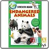 ENDANGERED ANIMALS STICKER BOOK