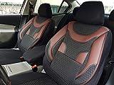 Sitzbezüge k-maniac | Universal schwarz-rot | Autositzbezüge Set Vordersitze | Autozubehör Innenraum | Auto Zubehör für Frauen und Männer | V334662 | Kfz Tuning | Sitzbezug | Sitzschoner