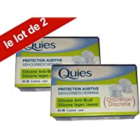 Quies - Gehoorbescherming uit transparante silicone Comfortabele en onzichtbare gehoorbescherming - 20 dB minder... preisvergleich bei billige-tabletten.eu