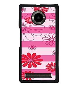 ifasho Designer Phone Back Case Cover YU Yuphoria :: YU Yuphoria YU5010 ( Yellow Pink Diamond Colorful Pattern Design )