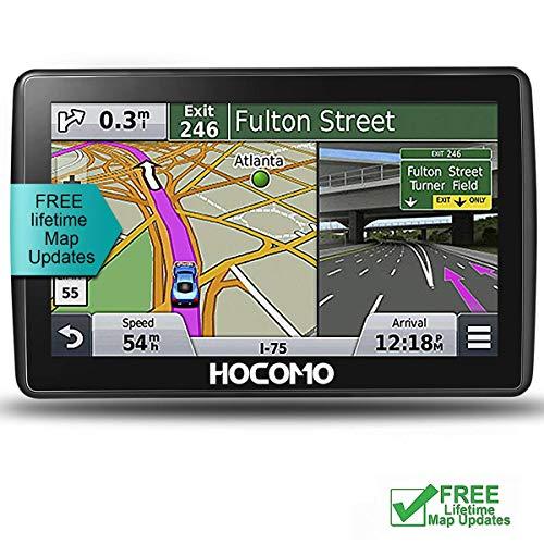 HOCOMO - Navegador GPS de 7 Pulgadas para Coche con Wi-Fi Integrado...