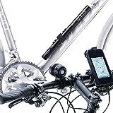 ZNEX 2 in 1 LED Fahrradbeleuchtung Set | Wasserdicht, Wiederaufladbar & Super Hell | Helmlampe Fahrrad 950 Lumen/3 Cree XM-L2 LEDs mit 5V/10.000mAh Bike Akku Powerbank IPX7 zertifiziert, lädt auch iPhone GPS GoPro