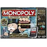 Hasbro Gaming - Juego de mesa Monopoly Electronic Banking (B6677E40)
