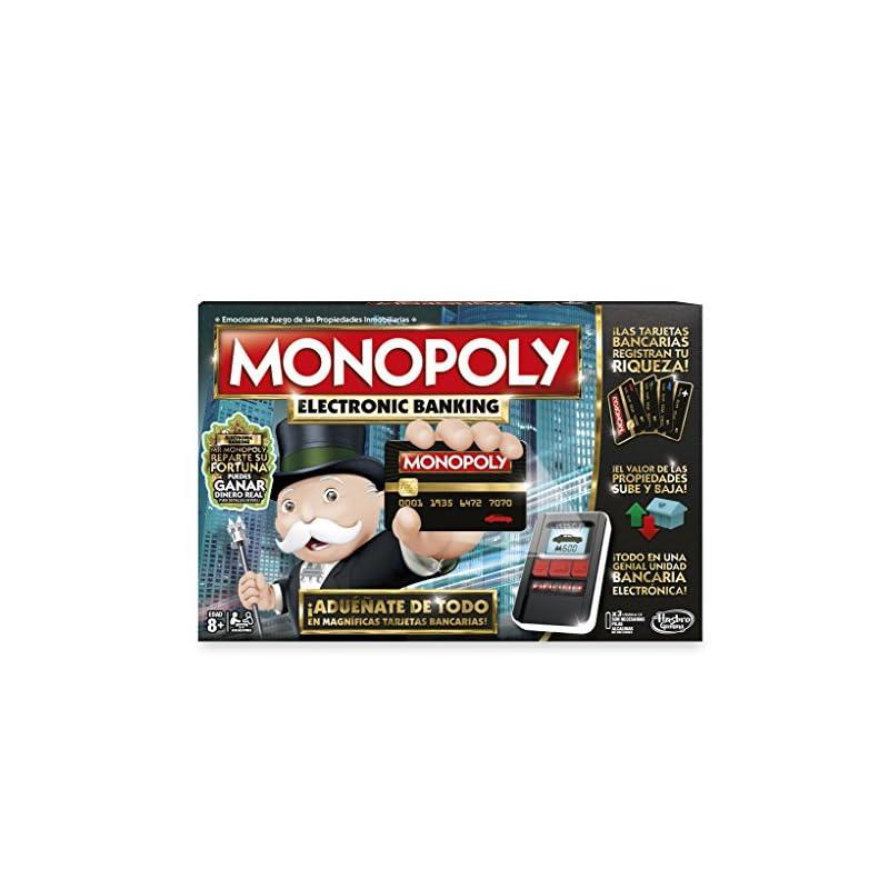Hasbro Gaming Juego De Mesa Monopoly Electronic Banking B6677e40