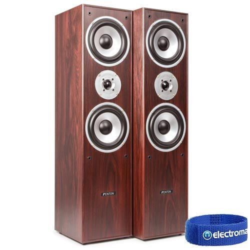 Skytronic 5.0 Walnut Surround Sound System Home Cinema House