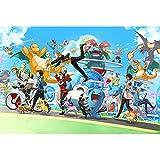 WYF's Puzzle Puzzle de 1000 pièces Pokémon Game Stills Puzzle - Dessins animés...