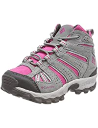 Columbia Niños Zapato de Trail, Impermeable, Childrens North Plains Mid