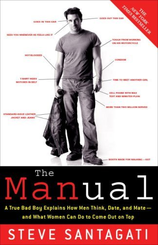 The Manual: A True Bad Boy Explains How Men Think, Date, and Mate--and What Women Can Do to Come Out on Top by Steve Santagati (2008-05-27)