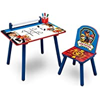 Preisvergleich für Paw Patrol Schreibtisch / Maltisch Kinderschreibtisch Tisch + Stuhl Kindertisch Kinderschreibtisch