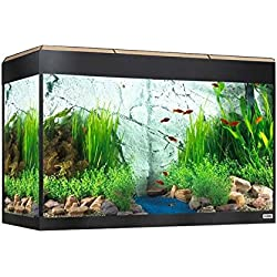 Fluval Kit de Acaurio Roma con Iluminación LED, Color Roble, 125 L
