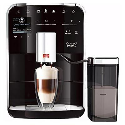 Melitta F750-201 BARISTA TS Coffee Machine, 1.8 Litre, 1450 W, 15 Bar, Silver