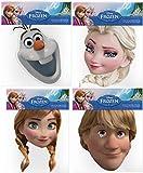 Official Disney Frozen 4 Card Face Masks (Multipack)
