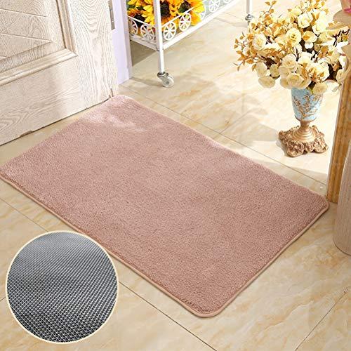JWANS Badezimmer Teppich Saugfähig rutschfeste Toilette Eingang Fußmatte 40x60cm Weiche Dusche Teppich - Rechteckige Mehrfarbige Teppiche