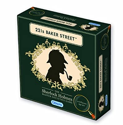 221b Baker Street Detective Game from Gibsons Games