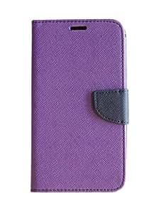 Mobi Fashion Flip Cover For Oppo Neo 7 4G - Purple