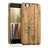 kwmobile Coque Apple iPhone 6 Plus / 6S Plus - Étui de Protection Rigide en Bois de...