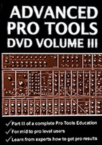 Price comparison product image Advanced Pro Tools 3 [DVD] [2010] [Region 1] [US Import] [NTSC]