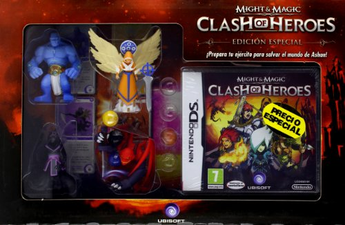 Pack Might & Magic Clash of Heroes + 4 figures