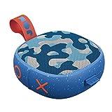 Jam Hang Up - Bluetooth Lautsprecher für die Dusche (Saugnapf, 8 Std. Akkulaufzeit, wasserdicht, staubdicht, sturzfest IP67, Mikrofon, kabellos, Aux-In, integriertes USB Kabel) camo