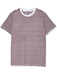 SELECTED FEMME Damen T-Shirt Sfmy Perfect Ss Tee - Box Cut-stri. Noos